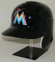 Miami Marlins Black Rawlings Coolflo LEC Full Size Baseball Batting Helmet