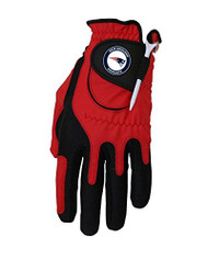 Zero Friction NFL New England Patriots Red Golf Glove, Left Hand