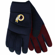 NFL Washington Redskins Black Deluxe Utility Work Gloves