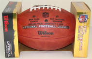 Super Bowl XLVI 46 Official Leather Authentic Game Football (WITH FINAL SCORE) by Wilson