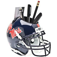 Ole Miss Rebels Mini Helmet Desk Caddy by Schutt