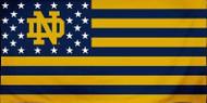 "Notre Dame Fighting Irish Stars & Stripes Fiber 30"" X 60"" Beach Bath Towel"