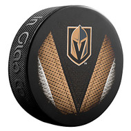 Las Vegas Golden Knights NHL Sher-Wood Souvenir Stitch Puck