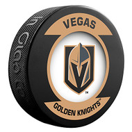 Las Vegas Golden Knights NHL Sher-Wood Souvenir Retro Puck