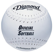 Diamond 11-Inch Synthetic Optic Cover Softballs (Dozen) 11OS