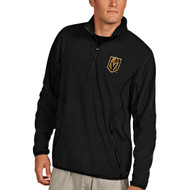 Las Vegas Golden Knights Black Ice Pullover Quarter-Zip Pullover Jacket