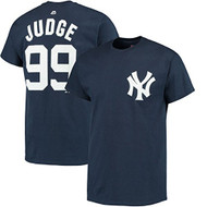 Aaron Judge New York Yankees #99 MLB Men's BIG & TALL Player Name & Number T-shirt