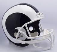 Los Angeles Rams Riddell Full Size Replica Helmet - New 2017 Logo
