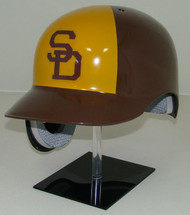 San Diego Padres Rawlings Throwback REC Full Size Baseball Batting Helmet