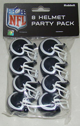 Los Angeles Rams 2017 Logo Gumball Party Pack Helmets (Pack of 8)