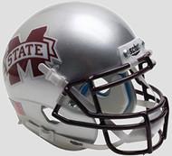 Mississippi State Bulldogs Alternate Silver Schutt Authentic Mini Helmet