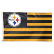 Pittsburgh Steelers NFL American Flag 3 foot by 5 Foot