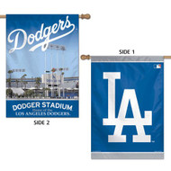 "MLB Los Angeles Dodgers 2 Sided Stadium Vertical Flag, 28 x 40"" by Wincraft"