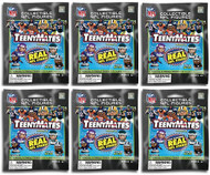 Party Animal NFL TeenyMates Series 6 Figurines Mystery Packs (6 Packs)