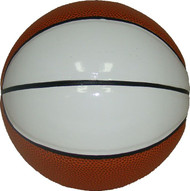 Mini Two White Panel Autograph Basketball by Spalding