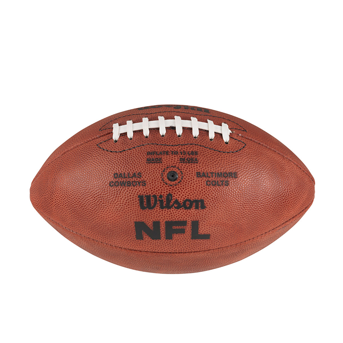 Super Bowl V Five 5 Official Leather Authentic Game Football By