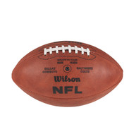 Super Bowl V (Five 5) Official Leather Authentic Game Football by Wilson