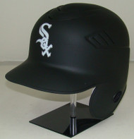 Chicago White Sox Matte Black Rawlings Coolflo LEC Full Size Baseball Batting Helmet