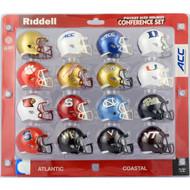 2017 NCAA ACC Pocket Pro Speed Revolution Mini Helmets Set by Riddell