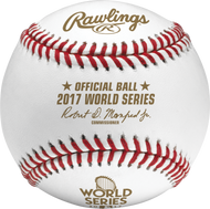 2017 World Series MLB Rawlings Official Baseball