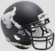 Buffalo Bulls Alternate Black Bullhead Schutt Mini Authentic Helmet