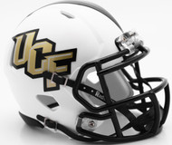 Central Florida UCF Knights Matte White SPEED Mini Helmet
