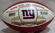 Wilson Limited Edition SBXLVI (46) Super Bowl Champions Football - NY Giants