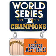 2017 Houston Astros World Series Champions Dangler Pin