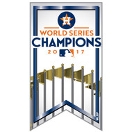 2017 Houston Astros World Series Champions Banner Pin