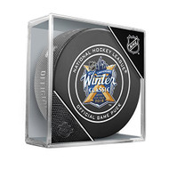2018 Winter Classic Sherwood Official NHL Game Puck in Cube
