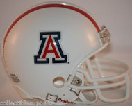 ARIZONA WILDCATS WHITE THROWBACK REPLICA MINI FOOTBALL HELMET