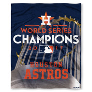 "Houston Astros The Northwest Company 2017 World Series Champions 50"" x 60"" Silk Touch Blanket"