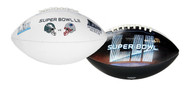 Super Bowl LII (52) Official Size Eagles vs. Patriots Dueling Football
