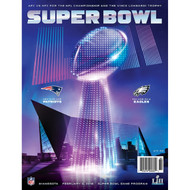 SUPER BOWL LII 52 Game Program - New England Patriots vs. Philadelphia Eagles
