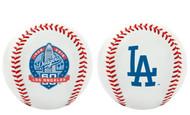 MLB Los Angeles Dodgers 60th Anniversary Collectible Souvenir Replica Baseballs (1 dozen)