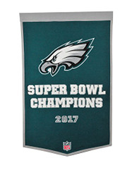 NFL Philadelphia Eagles Super Bowl Dynasty Banner