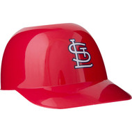 St Louis Cardinals MLB 8oz Snack Size / Ice Cream Mini Baseball Helmets - Quantity 6