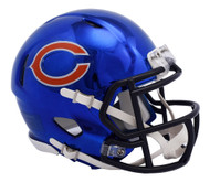 Chicago Bears Riddell Speed Mini Helmet - Chrome Alternate