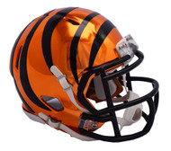 Cincinnati Bengals Riddell Speed Mini Helmet - Chrome Alternate