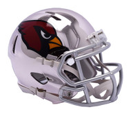 Arizona Cardinals Riddell Speed Mini Helmet - Chrome Alternate