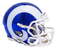 Los Angeles Rams Riddell Speed Mini Helmet - Chrome Alternate