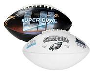 Super Bowl LII 52 Official Size Philadelphia Eagles Championship Football