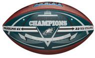 Philadelphia Eagles Super Bowl LII Champions Commemorative Wilson Football - Limited Edition