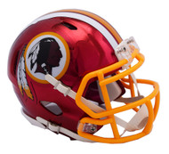 Washington Redskins Speed Riddell Replica Full Size Helmet - Chrome Alternate