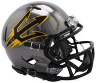 Arizona State Sun Devils Alternate Chrome NCAA Riddell Speed Mini Helmet