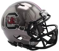 South Carolina Gamecocks Alternate Chrome NCAA Riddell Speed Mini Helmet
