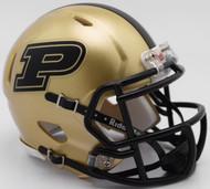 Purdue Boilermakers NCAA Revolution Riddell SPEED Mini Helmet