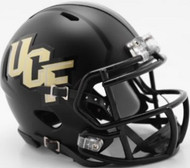 Central Florida UCF Knights Matte Black Anthracite SPEED Mini Helmet