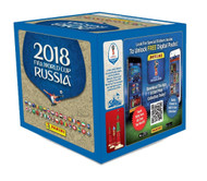 2018 Panini Russia FIFA World Cup Soccer Stickers Factory Sealed 50 Pack Box