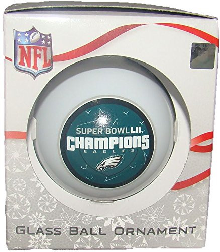 Philadelphia Eagles Super Bowl Lii Champions Glass Ball
